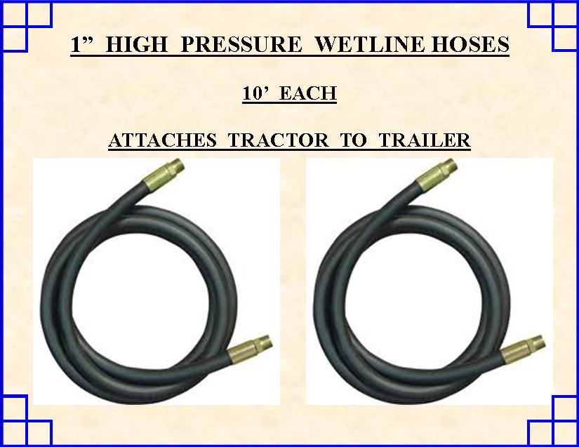 hydraulic line hookup